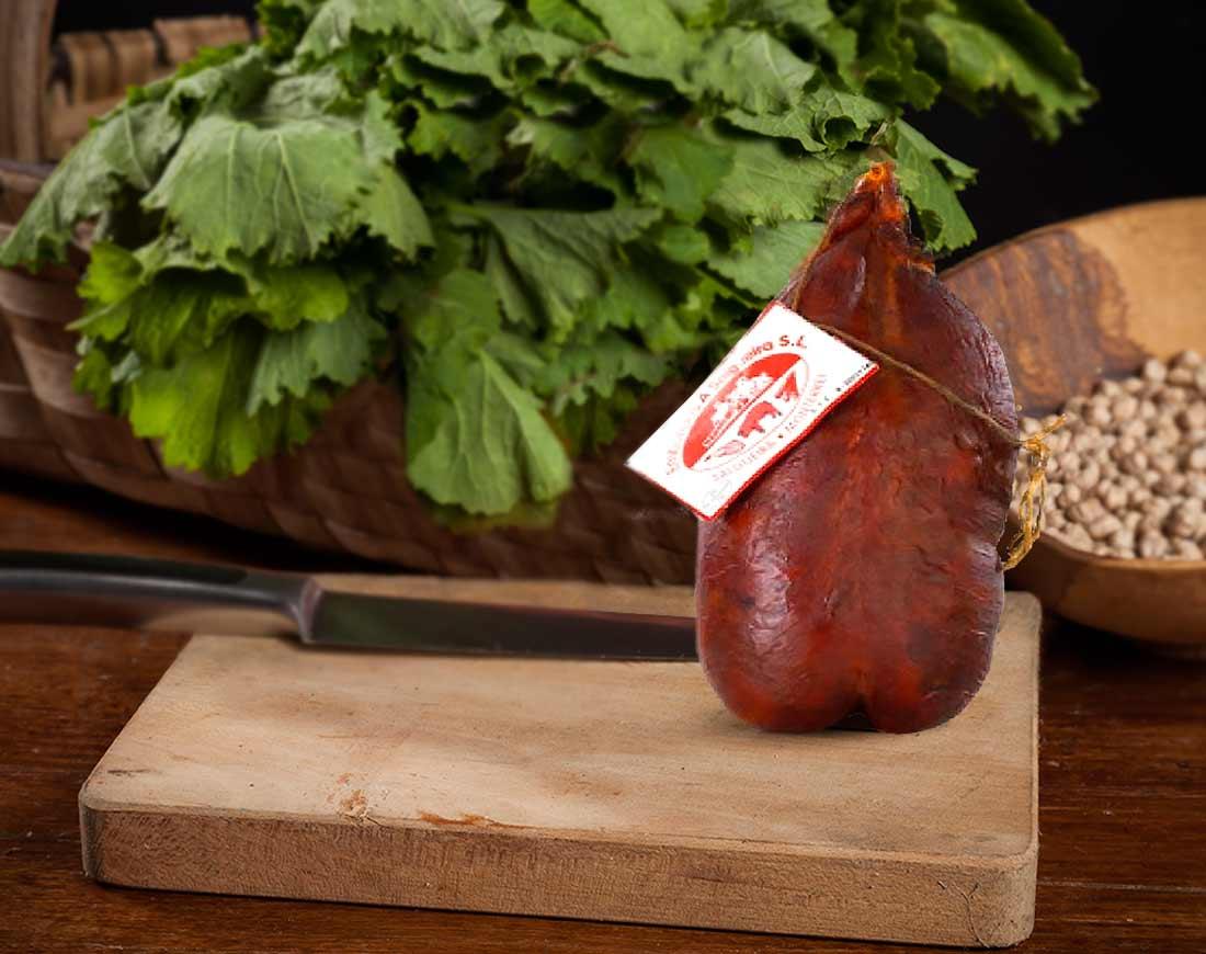 Chorizo Gordo de cabazo de Monterrei